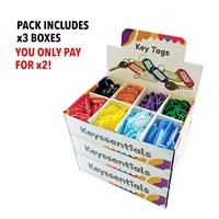 KRA306/OFFER | LABEL1 SPLIT RINGS  - BUY 2 BOXES GET 1 FREE