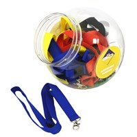 KRA396 | LANYARD DISPENSER JAR (24 LANYARDS)