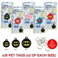 LPTB03 | DC PET TAG BUNDLE (2 OF EACH)