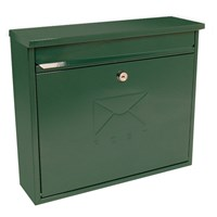 MB02G | ELEGANCE POST BOX - GREEN