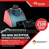 TM3001F/OFFER | 884 MINI MACHINE TKM-XTREMEKIT SOFTWARE AND TRANSPONDER CHIPS OFFER
