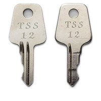 WL055 | TSS12 WINDOW LOCK KEYS