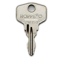WL073 | 2W153 HOPPE WINDOW KEY