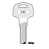 XHV160 | IF12 IFAM DIMPLE KEY BLANK