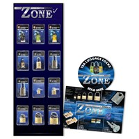 ZBD02 | ZONE PADLOCK BOARD WITH STOCK