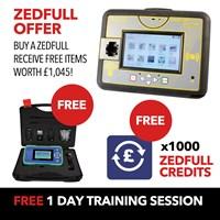 ZEDFULL-OFFER   FREE KD900 STARTER PACK, 1000 ZEDFULL CREDITS & TRAINING SESSION WITH ZEDFULL PURCHASES