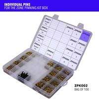 ZPK002   ZONE PINNING KIT SIZE 1 PINS (X100)