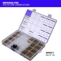 ZPK011 | ZONE PINNING KIT STRAIGHT PINS (X100)