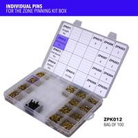 ZPK012 | ZONE PINNING KIT MUSHROOM PINS (X100)