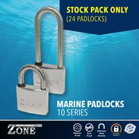 ZPP08/A | STOCK PACK ZONE 10 SERIES MARINE PADLOCKS 24 PIECES